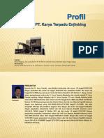 Profile Pt. Karya Terpadu Enjiniring