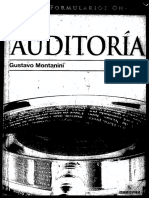 Auditoria - Gustavo Montanini