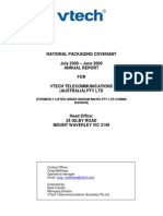 VTech Telecommunications Australia) Pty Ltd AR_08_09