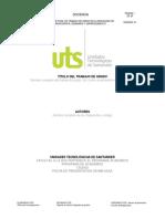 R-DC-96 Plantilla Informe Final Monografía -Seminario-Emprendimiento.estuDIANTES