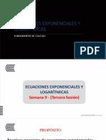 s 6 - 01 - Ecuaciones Exponenciales y Logarítmicas