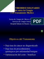 58 Nodulo Tiroide Solitario