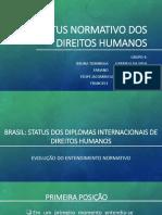 Status Normativo Dos Direitos Humanos