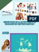 Escuela Para Padres - Autoestima