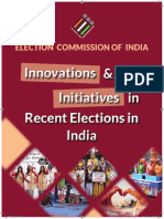 Booklet-ECI Innovations & Initiatives in Recent Eletions in India