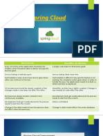 Spring Cloud (1) pptx | Cloud Computing | Application