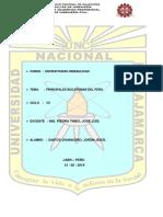 Bocatomas Importantes(Peru)