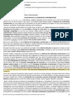 Los Novelistas Costarricenses. Las Clasificaciones de La Literatura Costarricense