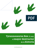Tyrannosaurus Rex (T.rex)