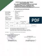 Bukti Uji Lab Ipal & Air Bulan Januari - Maret05212019072637