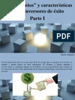 Nestor Chayelle - Los 8 Hábitos y Características de Los Inversores de Éxito, Parte I