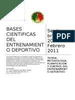 Bases Cientificas Del Entrenamiento Deportivo