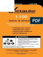 I 100 SPA Manual de Instalacion Vitaulic.