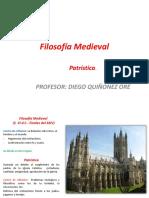 Filosofía Medieval PATRÍSTICA