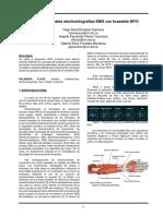 Análisis de Señales Electromiografías EMG Con Brazalete MYO