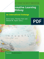 Bildung Transformative Learning Meets Bildung