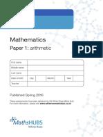 Year 4 - Arithmetic