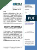 Artigo Analise MKT Fatores Ambientais