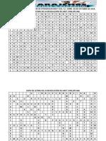 II Taller de Implementacion de Etnoeducación y Cea Sopa de Letras
