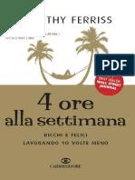 4 Ore Alla Settimana-Timothy Ferriss