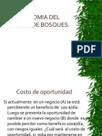 Economia Del Manejo de Bosques