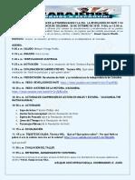 Agenda II Taller de Etnoeducación y Cea Sobre Revolución de Haiti