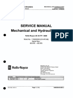 Rolls-Royce Mechanical and Hydraulic Part Service Manual 512513