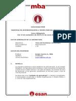 Silabo - Cuervo, Sergio - Toma de Decisiones Genrenciales