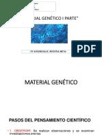 2º+AÑO+MEDIO+-+BIOLOGÍA+MATERIAL+GENÉTICO++I+PARTE
