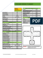 TAFA Checklist