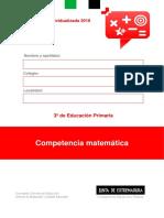 Cuaderno Evaluación Individualizada 3º E.P. CM 2018(1)