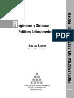 Módulo de Regímenes y Sistemas Políticos Latinoamericanos