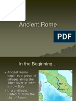 Ancient Rome Ppt