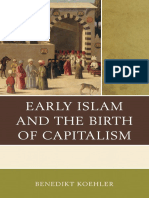 Early Islam and the Birth of Capitalism Benedikt Koehler