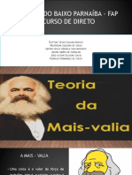 Slides Mais Valia