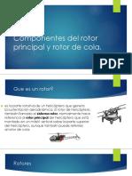 Componentes Del Rotor Principal y Rotor de Cola