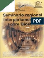 Bioética Regional Interparlamentario Sobre Bioética