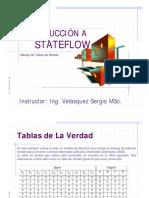 Curso Stateflow Chart Tabla de Verdad 2012