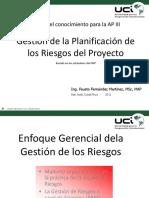 Gestión de La Planificación de Los Riesgos Del Proyecto - Tema 07