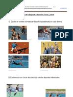 Guía de Trabajo de Educación Física y Salud