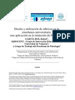 Bravo Arteaga y Fernández Del Valle. Evaluación Convencional y Auténtica