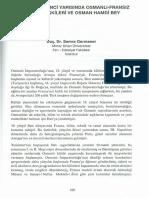 19. YÜZYILIN İKİNCİ YARISINDA OSMANLI-FRANSIZ KÜLTÜR İLİŞKİLERİ VE OSMAN HAMDİ BEY - Semra Germaner