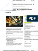 What is an Industrial Water Treatment