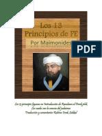 Breve Explicacion de Los Trece Principios Del Judaismo