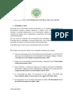 Escudo de La Universidad Central Del Ecu