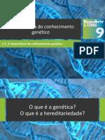 Dt9 a Importância Do Conhecimento Genético