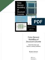 Finite Element Modelling Structural Concrete_kotsovos