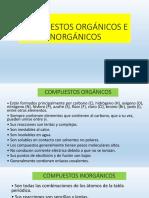 Compuestos Orgánicos e Inorgánicos Tipos de Carbono