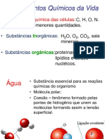 03 - Fundamentos Químicos Da Vida (Água e Sais Minerais)