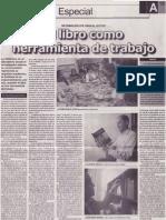 El libro como herramienta de trabajo, Mario Rommel Arce Espinoza